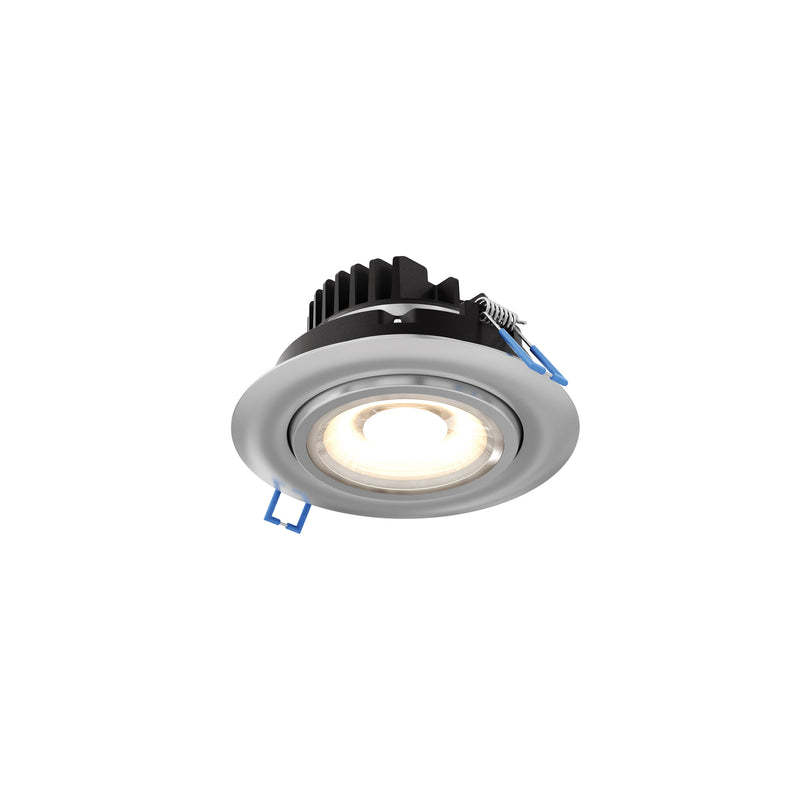 "Dals Lighting 4"" LED Round Gimbal 11W 3000K 1130 LM 90 CRI Satin Nckl GMB4-3K-SN"