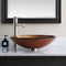 Avanity Tempered Glass Vessel Sink GVE480MCO