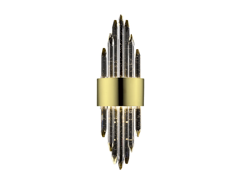 Avenue Lighting Aspen Collection Wall Sconce Brushed Brass HF3017-BB