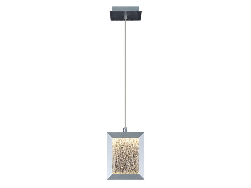 Avenue Lighting Brentwood Collection  Pendant Brushed Aluminum HF6013-BA