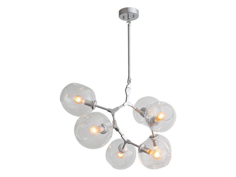 Avenue Lighting Fairfax Ave. Collection Chandelier Chrome HF8070-CH
