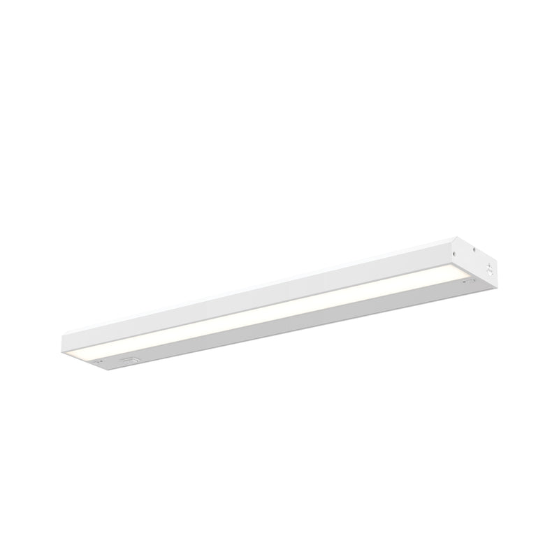 "Dals Lighting 30"" Hardwired Non-Swivel Linear 16W 800 LM CRI90 HLF30-3K-WH"