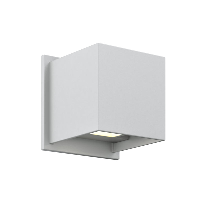 Dals Lighting LED Square Wall Sconce 7W 3000k 2 x 300 LM SG LEDWALL001D-SG