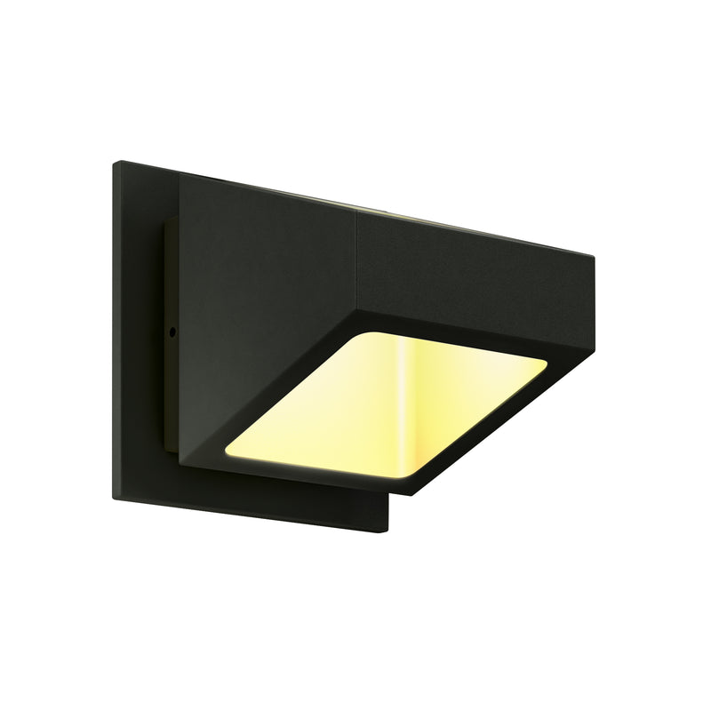 Dals Lighting LED Square Wall Sconce 7W 3000k 615 LM Blk LEDWALL004D-BK