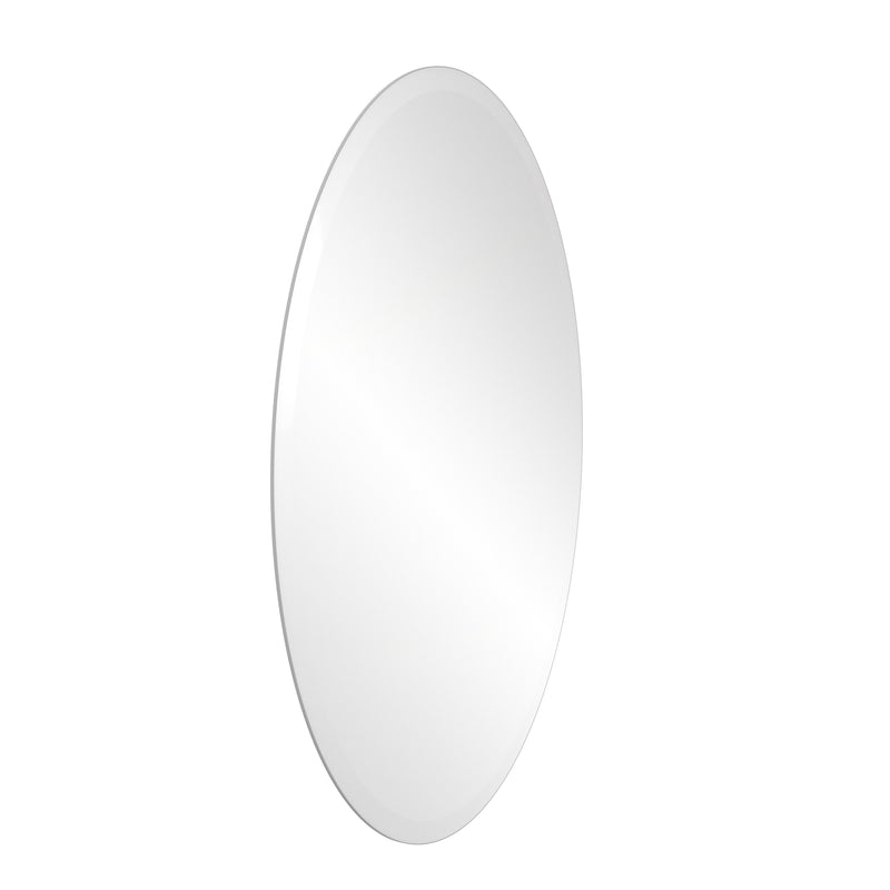 Allied Brass Frameless Oval Wall Mounted Mirror MROV-95