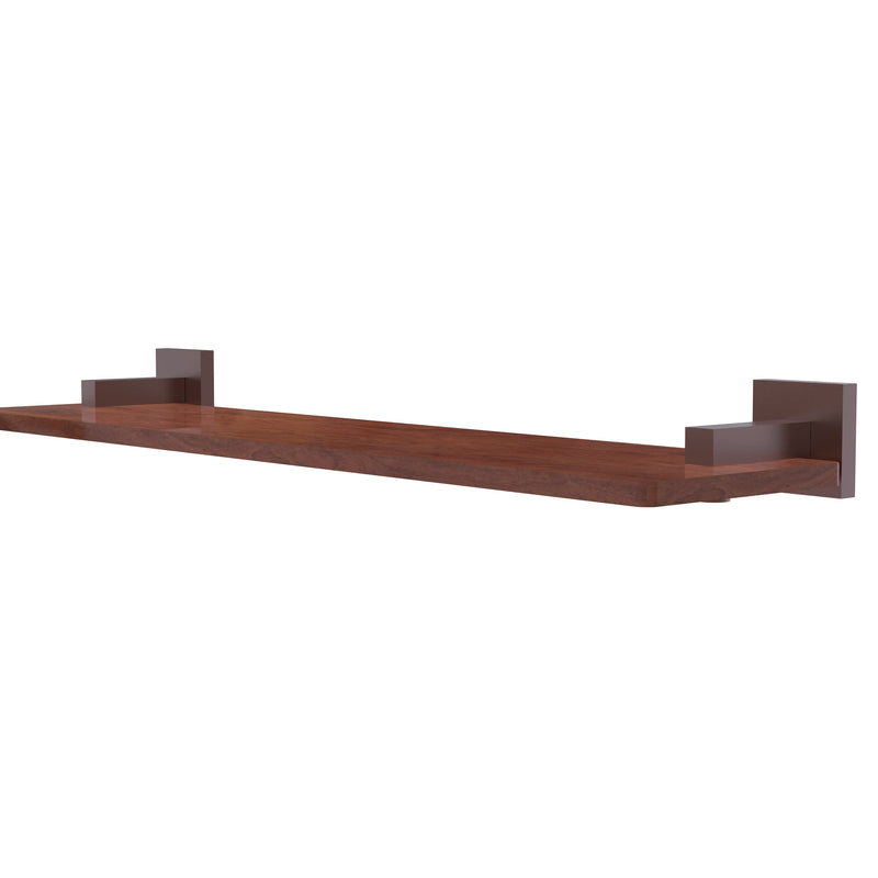 Allied Brass Montero Collection 22 Inch Solid IPE Ironwood Shelf MT-1-22-IRW-CA