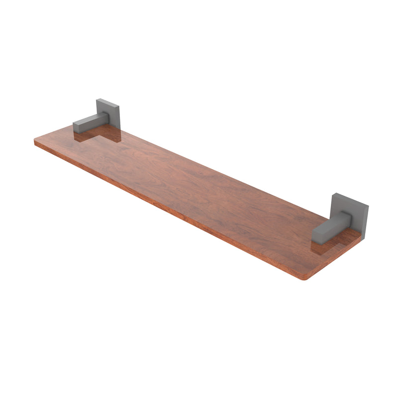 Allied Brass Montero Collection 22 Inch Solid IPE Ironwood Shelf MT-1-22-IRW-GYM