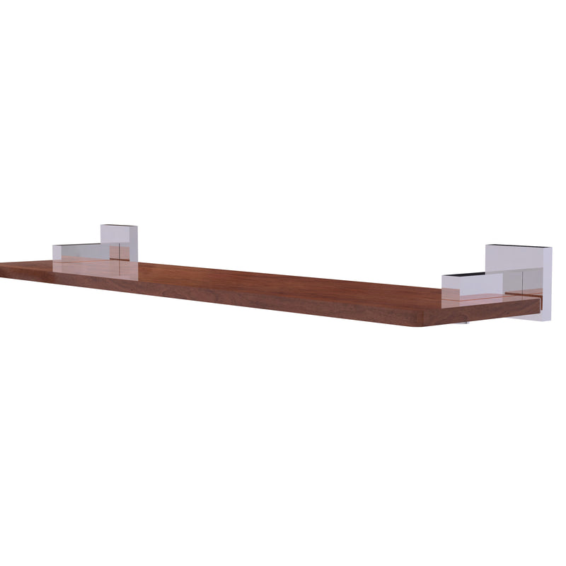 Allied Brass Montero Collection 22 Inch Solid IPE Ironwood Shelf MT-1-22-IRW-PC