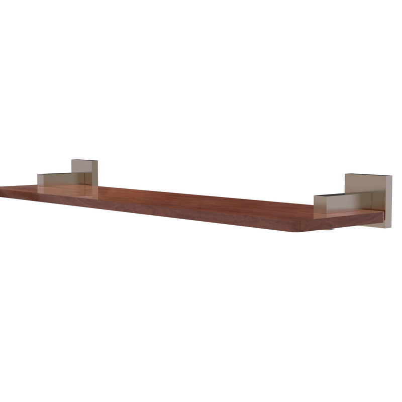 Allied Brass Montero Collection 22 Inch Solid IPE Ironwood Shelf MT-1-22-IRW-PEW