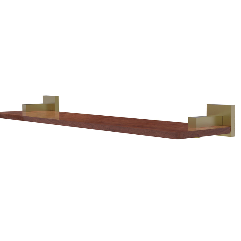 Allied Brass Montero Collection 22 Inch Solid IPE Ironwood Shelf MT-1-22-IRW-SBR
