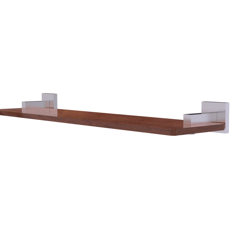 Allied Brass Montero Collection 22 Inch Solid IPE Ironwood Shelf MT-1-22-IRW-SCH
