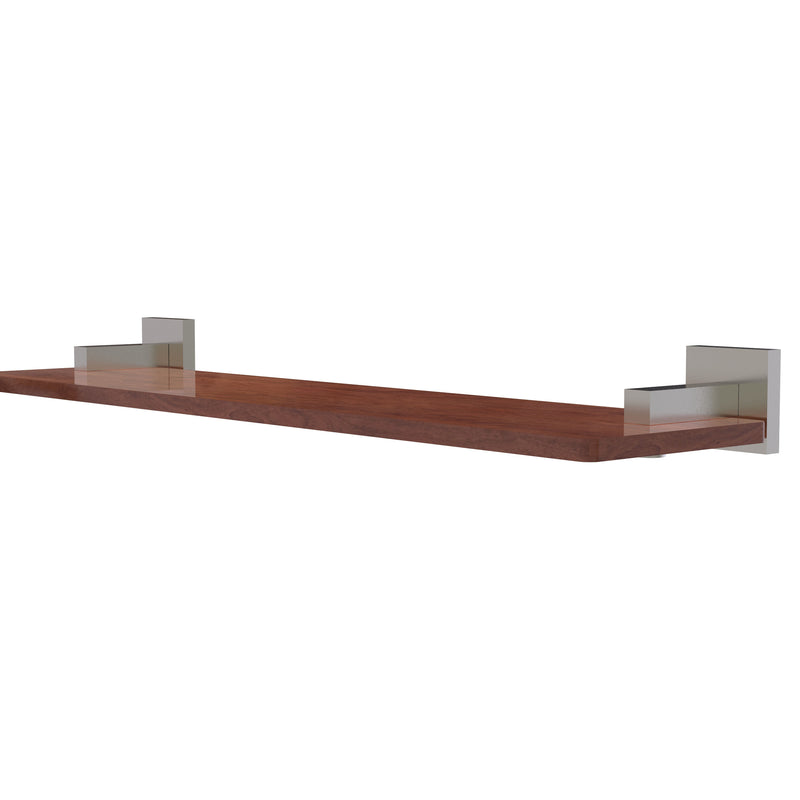 Allied Brass Montero Collection 22 Inch Solid IPE Ironwood Shelf MT-1-22-IRW-SN
