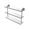 Allied Brass Montero Collection 22 Inch Triple Tiered Glass Shelf MT-5-22-GYM