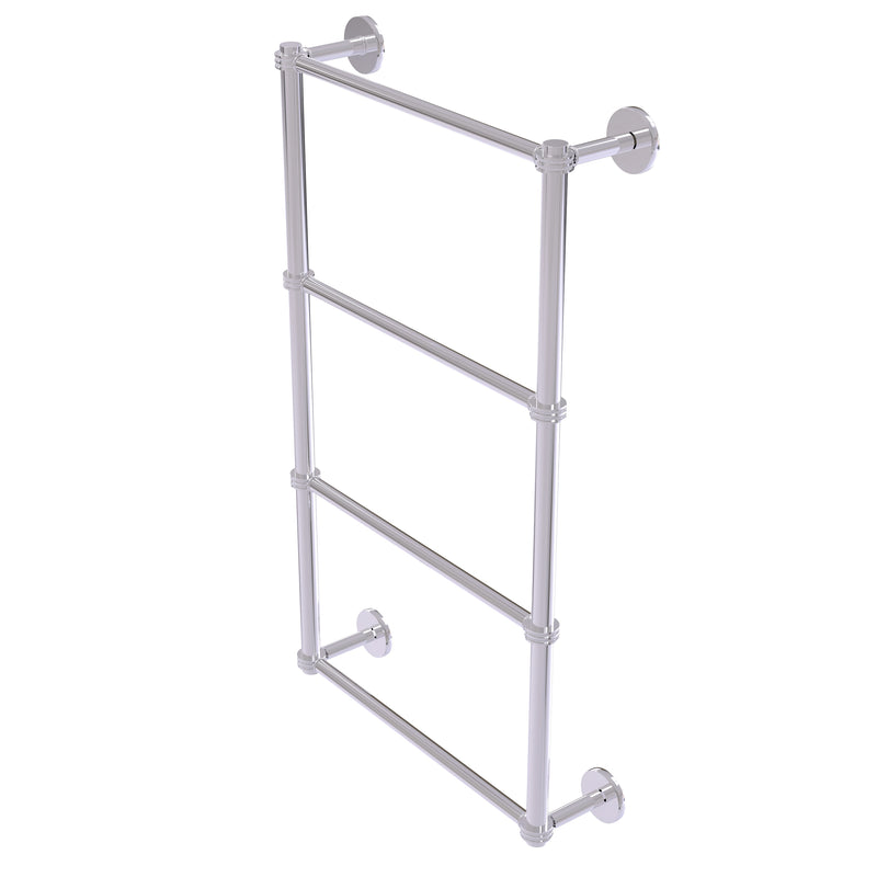 Allied Brass Prestige Skyline Collection 4 Tier 36 Inch Ladder Towel Bar with Dotted Detail P1000-28D-36-PC