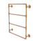 Allied Brass Pipeline Collection 24 Inch Wall Mounted Ladder Towel Bar P-280-24-LTB-BBR