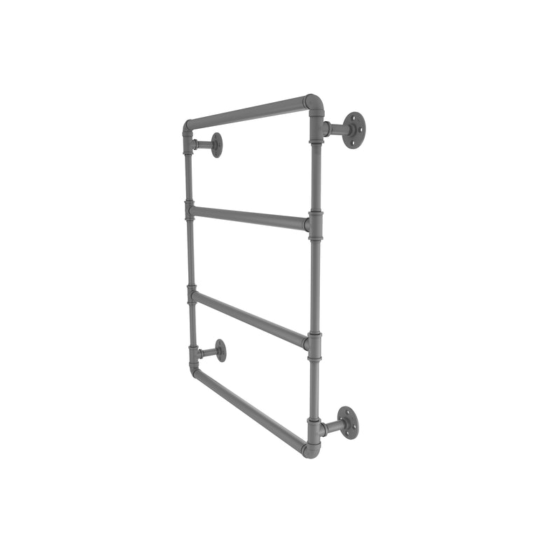 Allied Brass Pipeline Collection 24 Inch Wall Mounted Ladder Towel Bar P-280-24-LTB-GYM