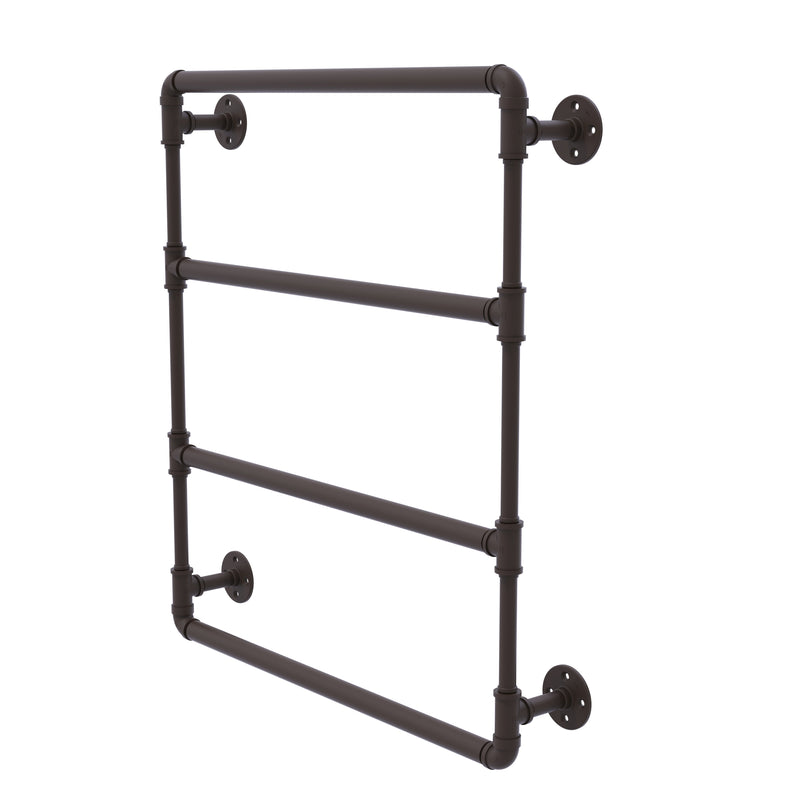 Allied Brass Pipeline Collection 24 Inch Wall Mounted Ladder Towel Bar P-280-24-LTB-ORB