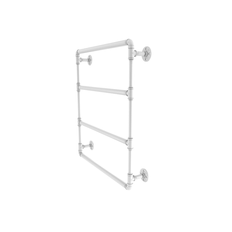 Allied Brass Pipeline Collection 24 Inch Wall Mounted Ladder Towel Bar P-280-24-LTB-WHM