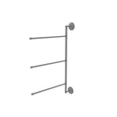 Allied Brass Prestige Que New Collection 3 Swing Arm Vertical 28 Inch Towel Bar PQN-27-3-16-28-GYM