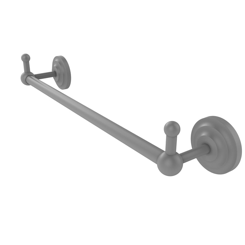 Allied Brass Prestige Que New Collection 18 Inch Towel Bar with Integrated Hooks PQN-41-18-PEG-GYM