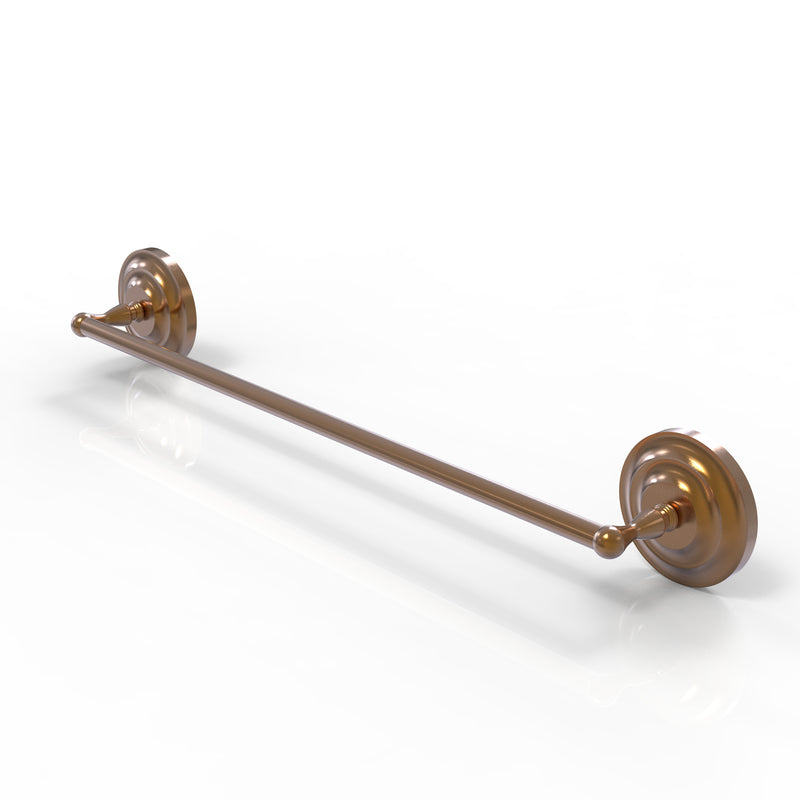 Allied Brass Que New Collection 36 Inch Towel Bar QN-31-36-BBR
