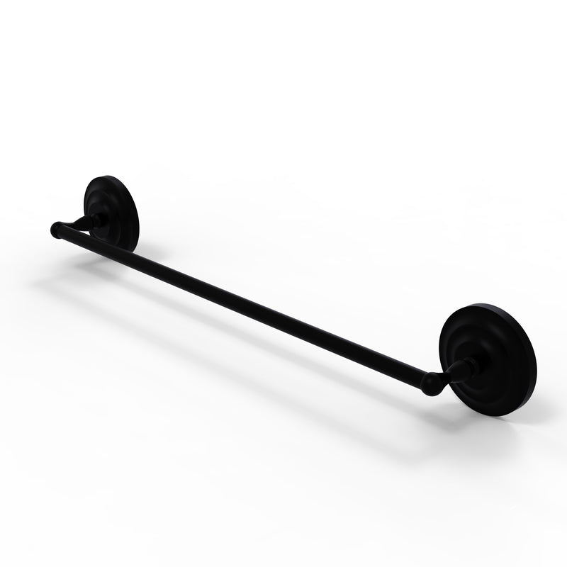 Allied Brass Que New Collection 36 Inch Towel Bar QN-31-36-BKM