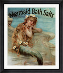Vintage Apple Collection Mermaid Bathsalts Contemporary Stepped Solid Black with Satin Finish R820733-AEAEAGME8E
