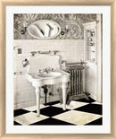 Mindy Sommers Victorian Bathroom White Washed Rounded Oatmeal Faux Wood R821905-AEAEAGJEMY