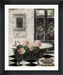 Mindy Sommers Le Bain Hydrangea Contemporary Stepped Solid Black with Satin Finish R821973-AEAEAGME8E