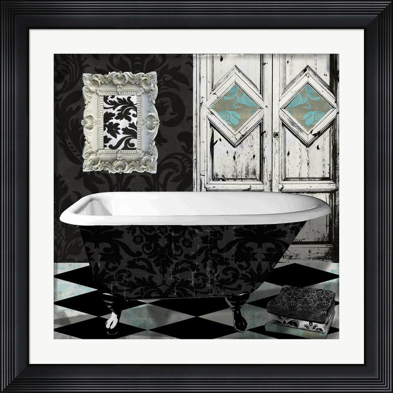 Mindy Sommers Le Bain Contemporary Stepped Solid Black with Satin Finish R822150-AEAEAGME8E