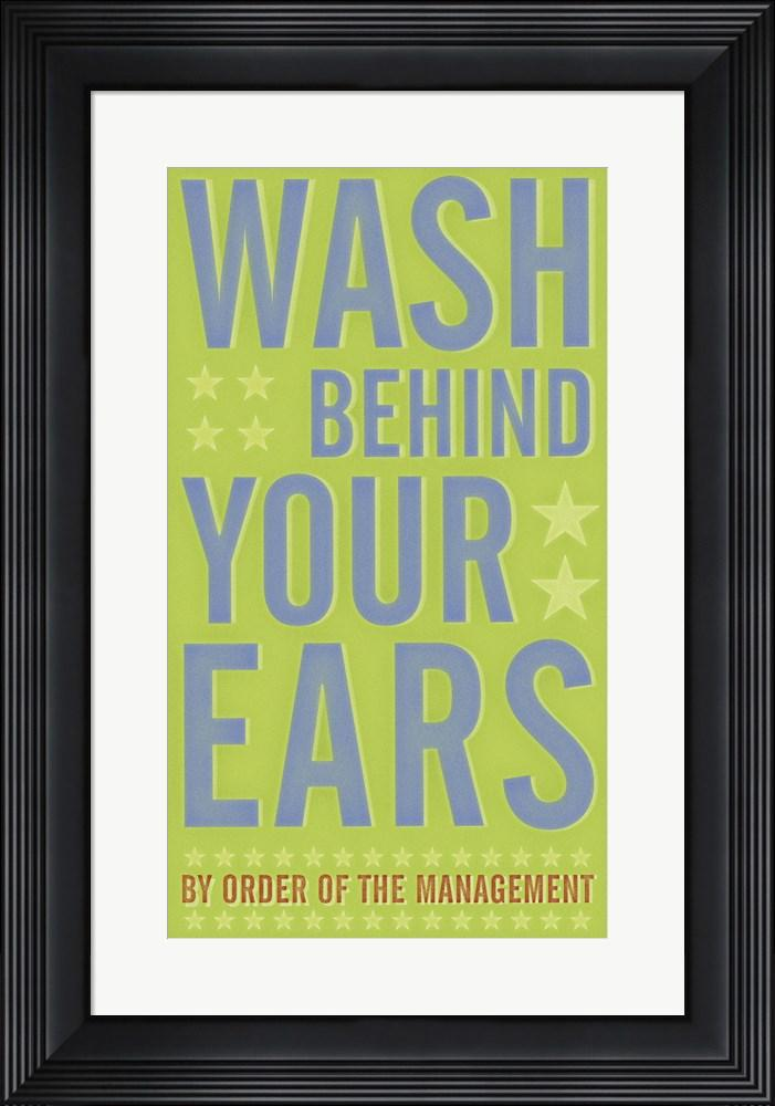 John W. Golden Wash Behind Your Ears Contemporary Stepped Solid Black with Satin Finish R822567-AEAEAGME8E