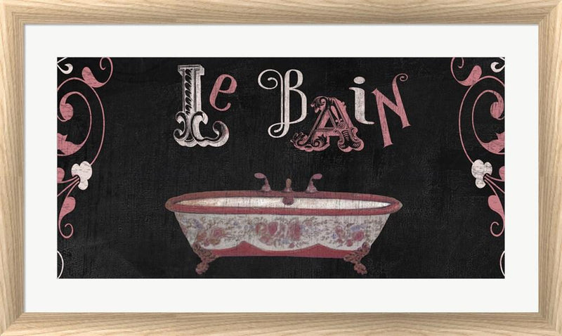 Color Bakery French Sign II White Washed Rounded Oatmeal Faux Wood R823066-AEAEAGJEMY