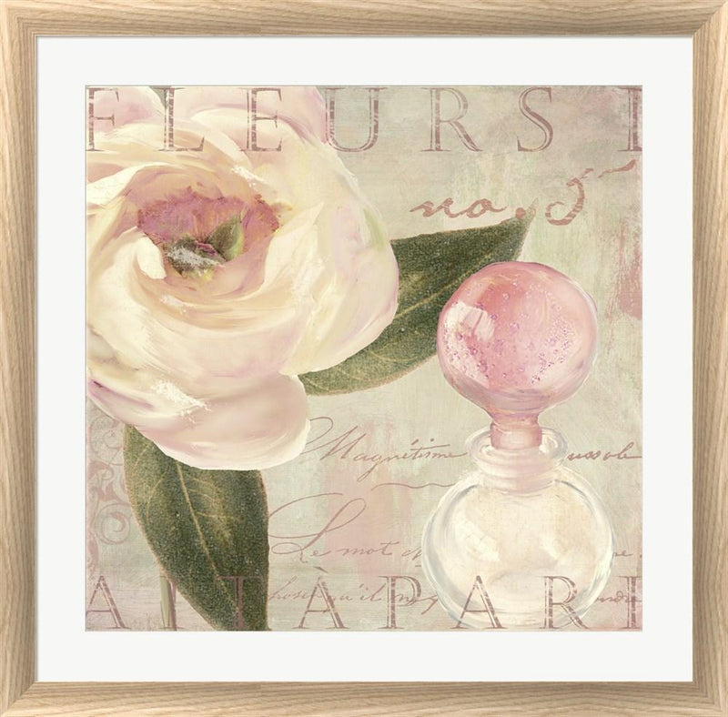 Color Bakery Parfum de Roses II White Washed Rounded Oatmeal Faux Wood R823171-AEAEAGJEMY