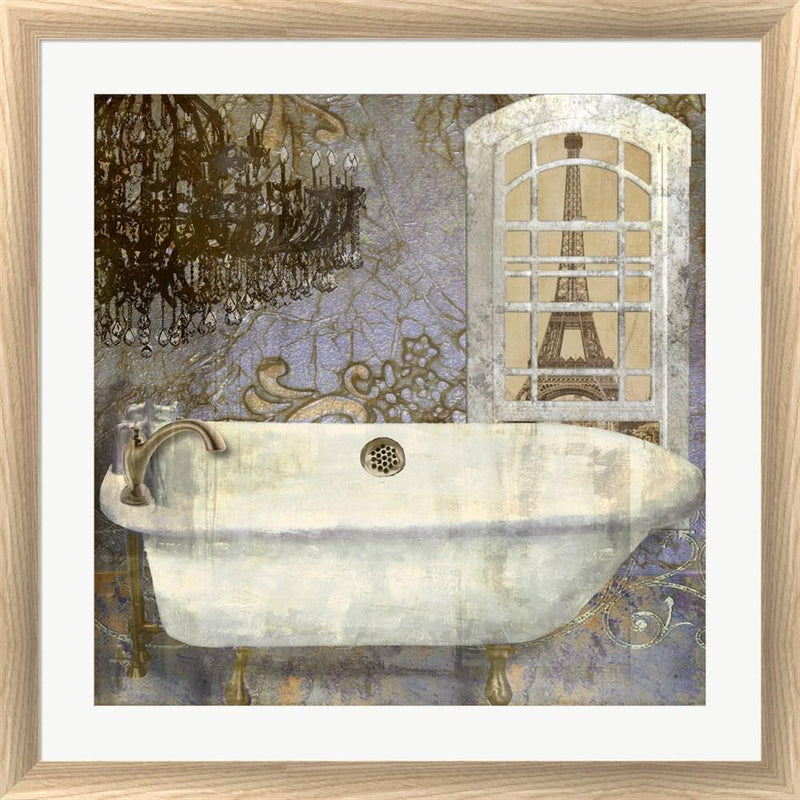 Color Bakery Salle de Bain I White Washed Rounded Oatmeal Faux Wood R823335-AEAEAGJEMY