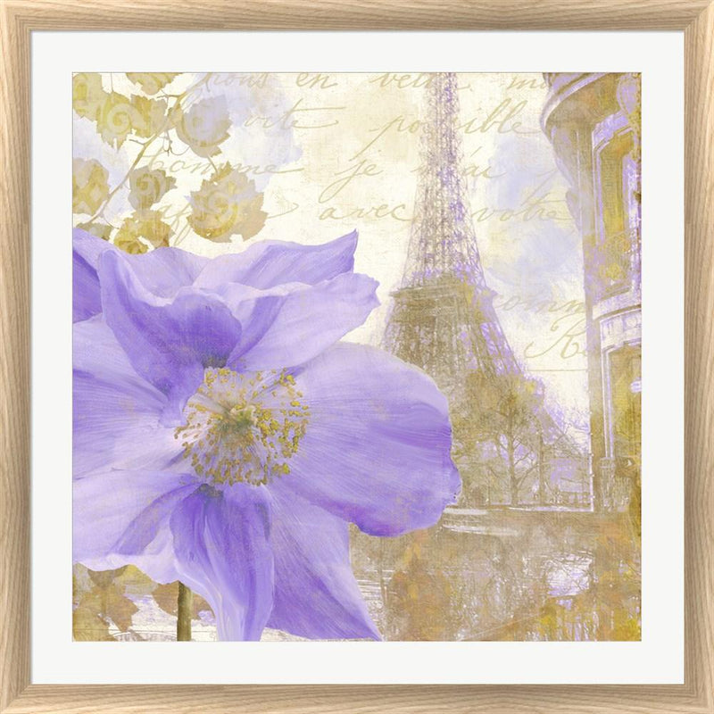 Color Bakery Purple Paris II White Washed Rounded Oatmeal Faux Wood R824735-AEAEAGJEMY