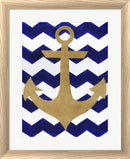 Artpoptart Chevron Anchor White Washed Rounded Oatmeal Faux Wood R827901-AEAEAGJEMY