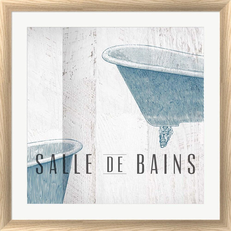 Dallas Drotz Salle de Bains I White Washed Rounded Oatmeal Faux Wood R855374-AEAEAGJEMY