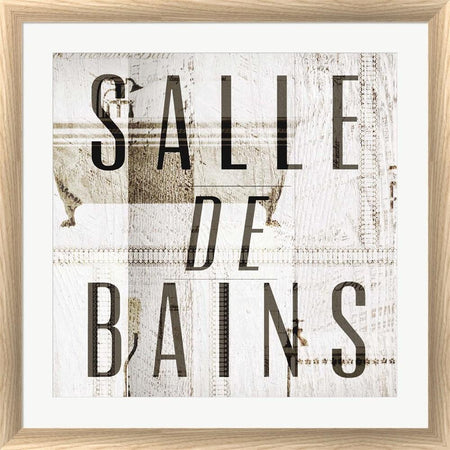 Dallas Drotz Salle de Bains II White Washed Rounded Oatmeal Faux Wood R855375-AEAEAGJEMY