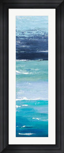 Patricia Pinto Blue Palette Panel I Contemporary Stepped Solid Black with Satin Finish R871688-AEAEAGME8E
