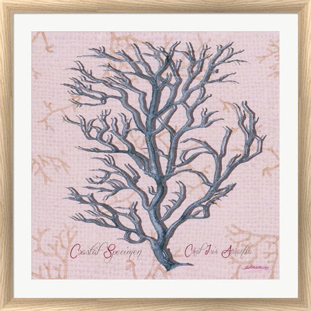 Sheila Elsea Sea Coral I White Washed Rounded Oatmeal Faux Wood R883370-AEAEAGJEMY