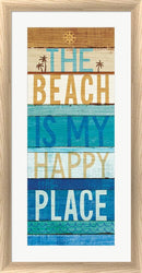 Michael Mullan Beachscape Inspiration IV White Washed Rounded Oatmeal Faux Wood R899165-AEAEAGJEMY