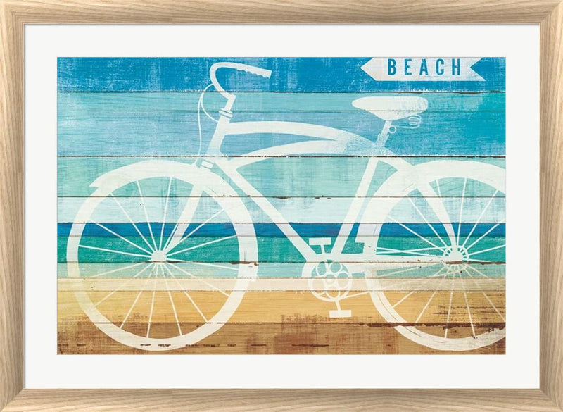 Michael Mullan Beachscape Cruiser II White Washed Rounded Oatmeal Faux Wood R899175-AEAEAGJEMY