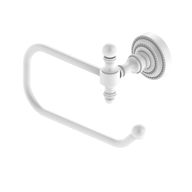 Allied Brass Retro Dot Collection European Style Toilet Tissue Holder RD-24E-WHM