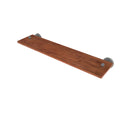 Allied Brass Waverly Place Collection 22 Inch Solid IPE Ironwood Shelf WP-1-22-IRW-GYM