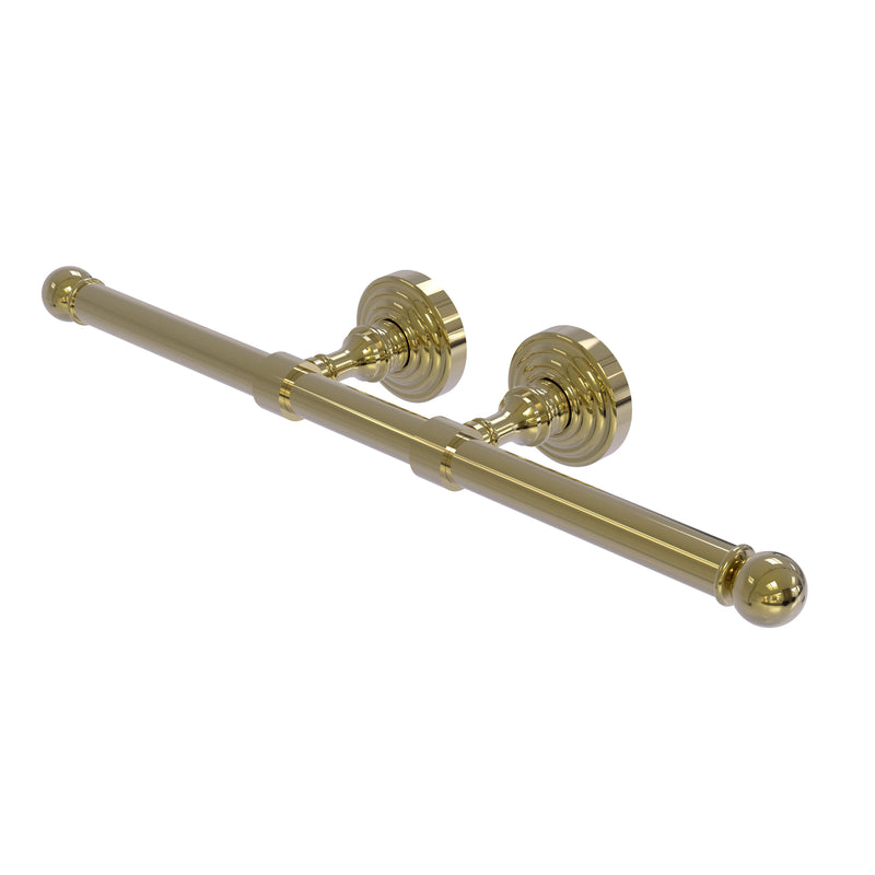 Allied Brass Waverly Place Collection Double Roll Toilet Tissue Holder WP-24-2-UNL