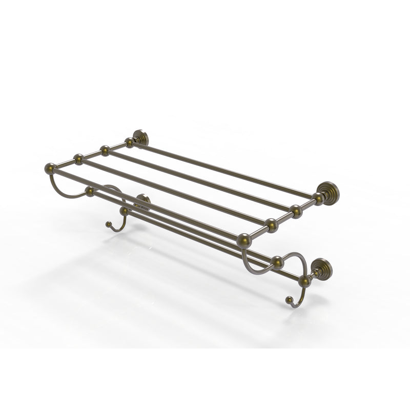 Allied Brass Waverly Place Collection 24 Inch Train Rack Towel Shelf WP-HTL-24-5-ABR
