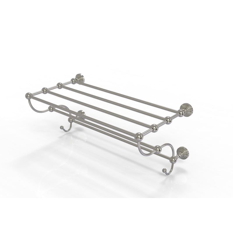 Allied Brass Waverly Place Collection 24 Inch Train Rack Towel Shelf WP-HTL-24-5-SN