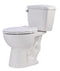 Anzzi Author 2-piece 1.28 GPF Single Flush Elongated Toilet in White