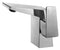 ALFI Brushed Nickel Modern Single Hole Bathroom Faucet AB1470-BN