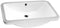 "Anzzi Lanmia Series 7.25"" Ceramic Undermount Sink Basin in White"